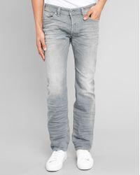 Diesel Grey Safado Slim-Fit Jeans - Lyst
