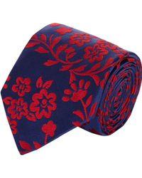 Duchamp Chamomile Floral Silk Jacquard Neck Tie - Lyst