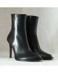Ann Demeulemeester boots heel boots ankle boots - Lyst