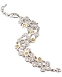 Coomi - Opera Crystal & Diamond 3-row Bracelet - Lyst