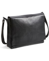 Skagen 'Eric' Leather Messenger Bag - Lyst