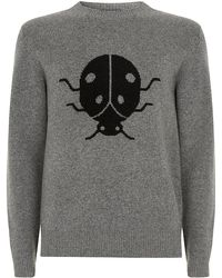 Marc By Marc Jacobs - Ladybirdpatterned Merino Wool Sweater - Lyst