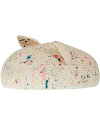 Eugenia Kim White Caterina Cat Ear Hat multicolor - Lyst