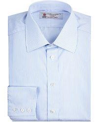Turnbull & Asser Pencil Stripe Shirt - Lyst