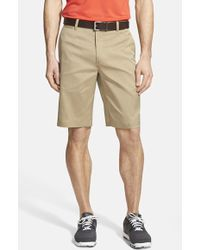 Nike Flat Front Golf Shorts - Lyst