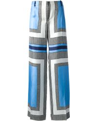 Moncler Colour Block Print Trouser - Lyst