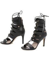 Zimmermann | Tassel Hybrid Sandals - Black | Lyst