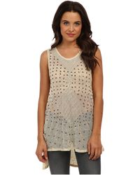 Free People Embellished Top - Lyst
