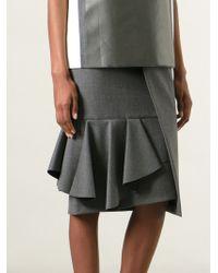 Viktor & Rolf Asymmetrical Pencil Skirt - Lyst