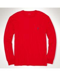 Polo Ralph Lauren Classic Longsleeved Tshirt - Lyst
