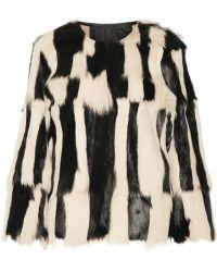 Isabel Marant Alice Goat Hair Coat - Lyst