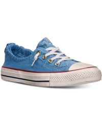 Converse Chuck Taylor Shoreline Casual Sneakers From Finish Line - Lyst