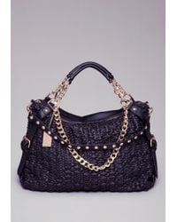 Bebe - Denise Textured Tote - Lyst