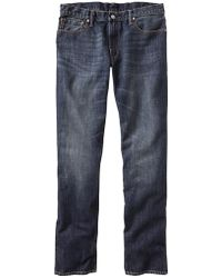 Gap Straight Fit Jeans Indigo Wash - Lyst