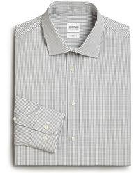 Armani Extra Slim-Fit Checked Dress Shirt - Lyst