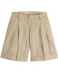 Michael Kors Cotton Shorts - Lyst