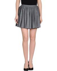 Dior Mini Skirt - Lyst