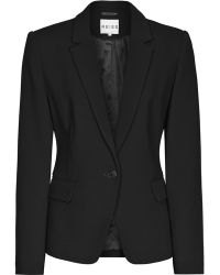 Reiss Lillian Textured Tailored Jacket - Lyst