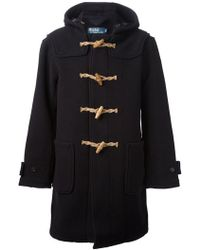 Ralph Lauren Blue Label Duffel Coat - Lyst