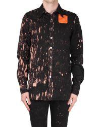 Raf Simons Slim Fit Workerwear Cotton Shirt - Lyst