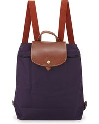 Longchamp Le Pliage Nylon Backpack - Lyst