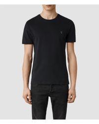 AllSaints Brace Tonic Crew T-Shirt - Lyst