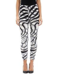 Patchington - Zebra Print Legging - Lyst