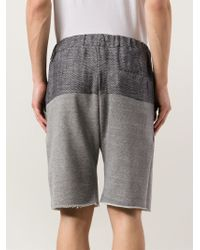Cwst - Panelled Shorts - Lyst