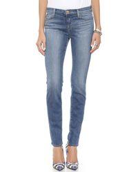 J Brand 811 Mid Rise Skinny Jeans - Imagine - Lyst