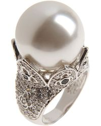 Cz By Kenneth Jay Lane Ring - Lyst