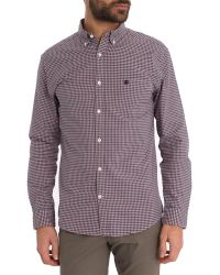 Selected Collect Red And Blue Checkered Shirt - Lyst