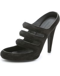 Alexander Wang Chelsie High Heel Sandals - Black - Lyst