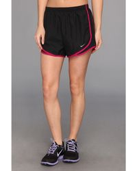 Nike Black Tempo Short - Lyst