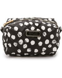 Marc By Marc Jacobs Crosby Quilted Nylon Large Cosmetic Case - Black Multi - Lyst