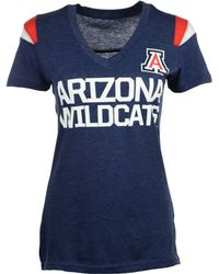 Nike Womens Shortsleeve Arizona Wildcats Ncaa Fan Top Tshirt - Lyst