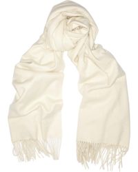 Burberry Brushedcashmere Wrap - Lyst