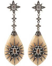 Miriam Salat Marquis Drop Earrings - Lyst