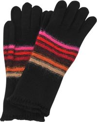 Sonia Rykiel Long Striped Wool and Mohair Gloves - Lyst