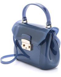 Furla Candy Bon Bon Mini Bag - Indigo blue - Lyst