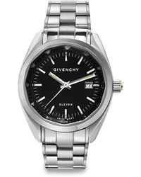 Givenchy Eleven Stainless Steel Bracelet Watch - Lyst