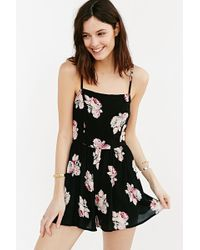 Kimchi Blue - Rosey Posey Romper - Lyst