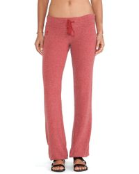 Wildfox Malibu Skinny Sweat - Lyst