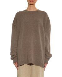 Haider Ackermann Fine-Knit Wool And Cashmere-Blend Sweater - Lyst