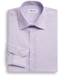 Saint Laurent Modernfit Dress Shirt - Lyst