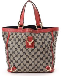 Gucci Red Tote Bag - Lyst