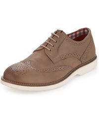 Ben Sherman Ronnie Lace-Up Wing-Tip Shoe - Lyst