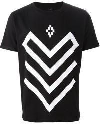 Marcelo Burlon Graphic Print T-Shirt - Lyst