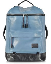 62437782839f Kris Van Assche - Light Blue Single Pocket Backpack - Lyst