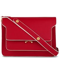 Marni Trunk Calfskin Leather Bag - For Women - Lyst