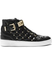 Michael Kors Michael Essex High Top Sneakers - Lyst
